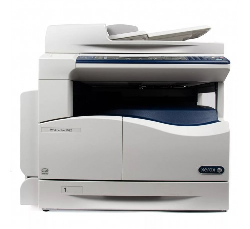 МФУ XEROX WorkCentre 5022 (А3, принтер/копир/сканер, скор. 22 стр.мин USB2.0, DADF,Duplex)