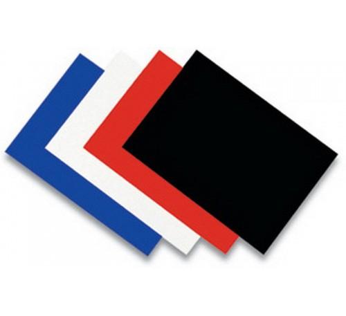 Пластик  для переплета А4 300 мкн красный непрозрачный (50 шт.) Yu